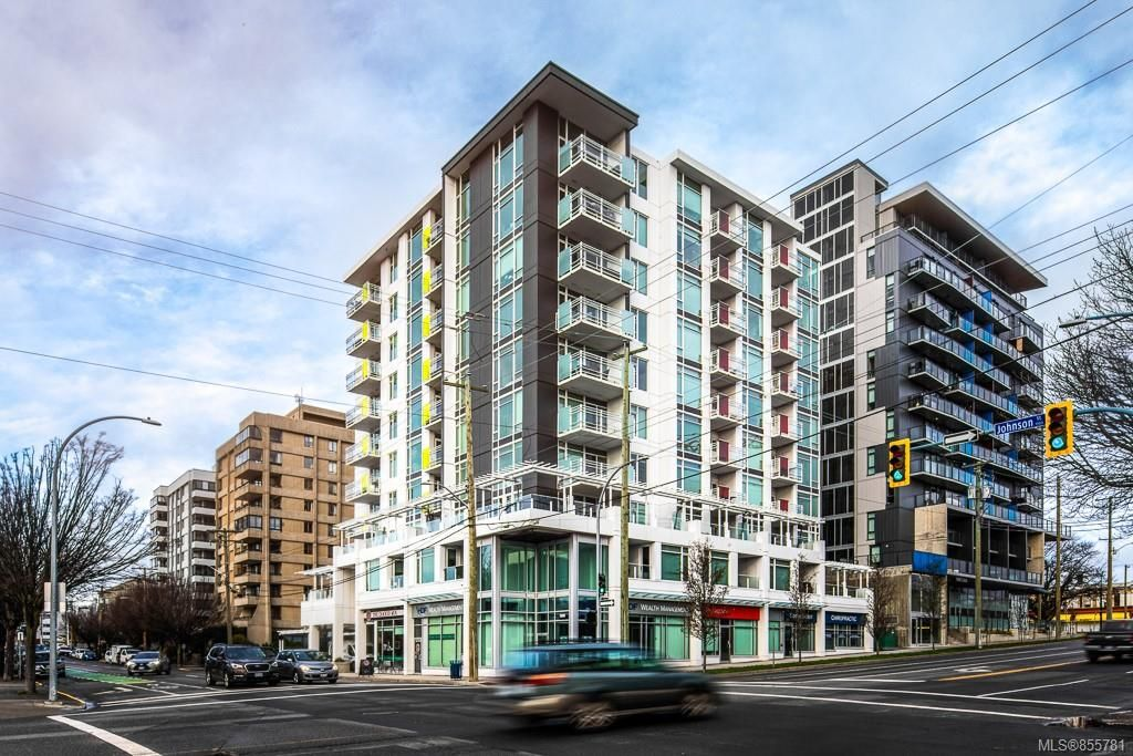 Main Photo: 802 1090 Johnson St in : Vi Downtown Condo for sale (Victoria)  : MLS®# 855781