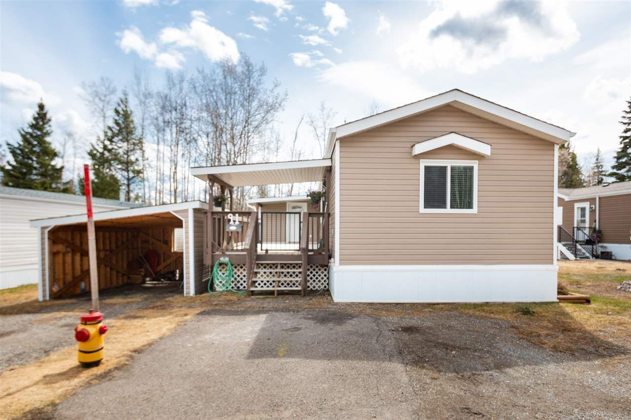 """Main Photo: 91 6100 O'GRADY Road in Prince George: St. Lawrence Heights Manufactured Home for sale in """"COLLEGE HEIGHTS TRAILER PARK"""" (PG City South (Zone 74))  : MLS®# R2453065"""