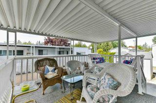 "Photo 17: 21 2035 MARTENS Street in Abbotsford: Poplar Manufactured Home for sale in ""Maplewood estates"" : MLS®# R2368618"