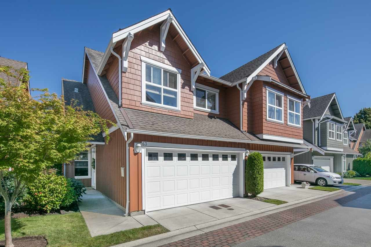 Main Photo: 63 3088 FRANCIS Road in Richmond: Seafair Townhouse for sale : MLS®# R2102025