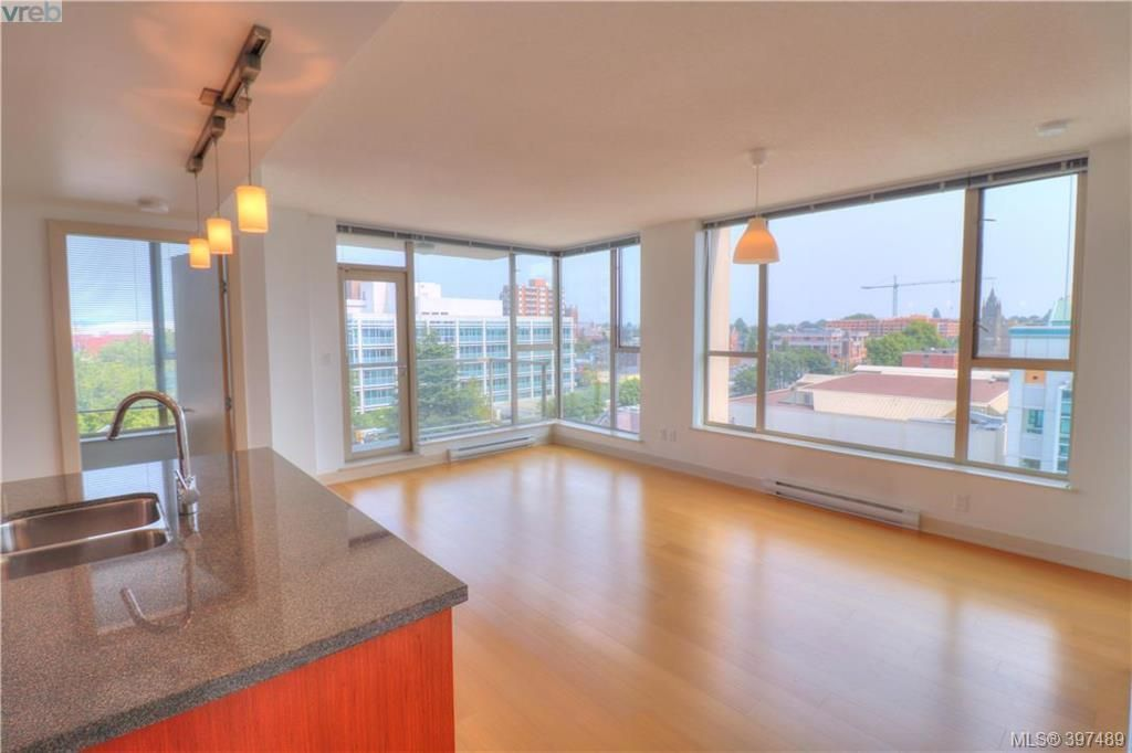 Open and bright with superb views.