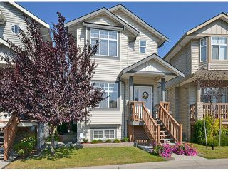"""Photo 1: 121 33751 7TH Avenue in Mission: Mission BC Townhouse for sale in """"Heritage Park Place"""" : MLS®# F1418910"""