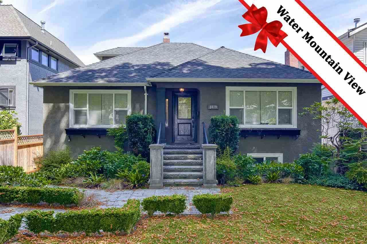Main Photo: 3479 W 19TH Avenue in Vancouver: Dunbar House for sale (Vancouver West)  : MLS®# R2542018