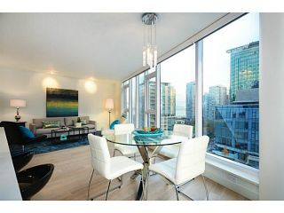 """Photo 3: 1103 1499 W PENDER Street in Vancouver: Coal Harbour Condo for sale in """"WEST PENDER PLACE"""" (Vancouver West)  : MLS®# V1054615"""