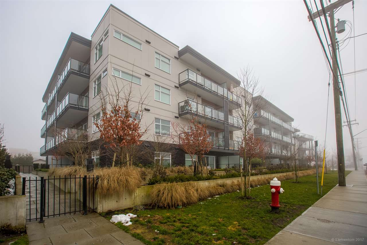 """Main Photo: 111 12070 227 Street in Maple Ridge: East Central Condo for sale in """"STATION ONE"""" : MLS®# R2230679"""