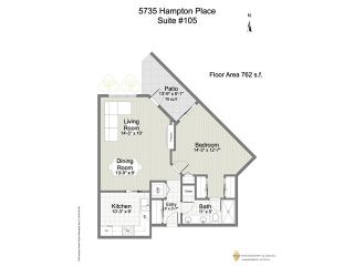 """Photo 20: 105 5735 HAMPTON Place in Vancouver: University VW Condo for sale in """"THE BRISTOL"""" (Vancouver West)  : MLS®# V1122192"""
