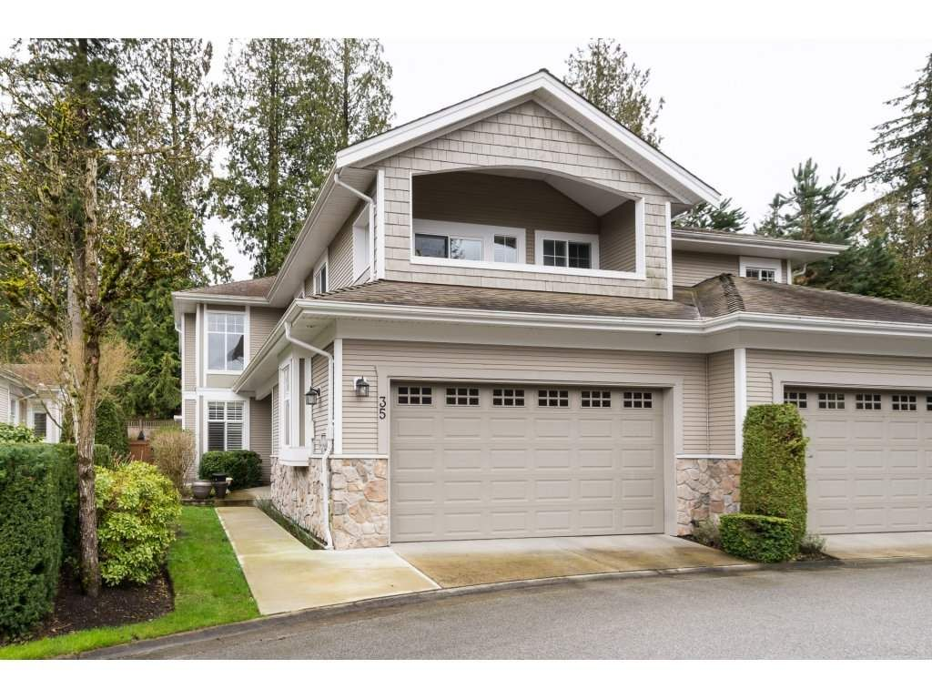 "Main Photo: 35 3500 144 Street in Surrey: Elgin Chantrell Townhouse for sale in ""the Cresents"" (South Surrey White Rock)  : MLS®# R2154054"