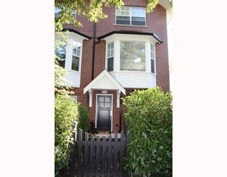 """Photo 1: 852 W 15TH Avenue in Vancouver: Fairview VW Townhouse for sale in """"REDBRICKS"""" (Vancouver West)  : MLS®# V790178"""