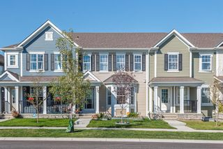 Main Photo: 716 Osborne Drive: Airdrie Row/Townhouse for sale : MLS®# A1145579