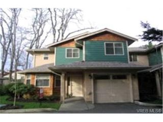 Photo 1:  in VICTORIA: SW Strawberry Vale Row/Townhouse for sale (Saanich West)  : MLS®# 357359