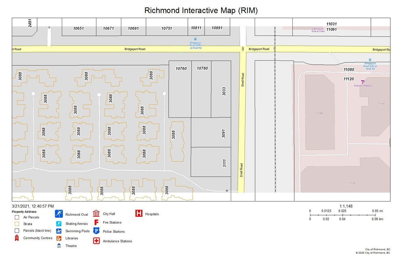 Main Photo: 3033 SHELL Road in Richmond: West Cambie Land Commercial for sale : MLS®# C8037271