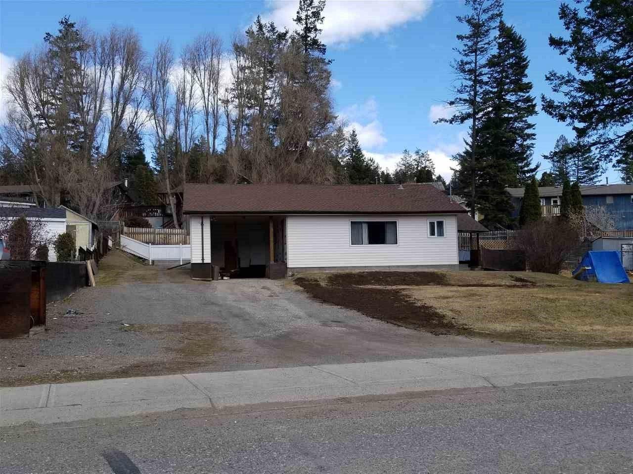 Main Photo: 1038 DAIRY Road in Williams Lake: Williams Lake - City House for sale (Williams Lake (Zone 27))  : MLS®# R2450281