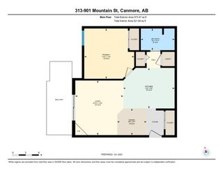 Photo 20: 313 901 Mountain Street: Canmore Apartment for sale : MLS®# A1090797