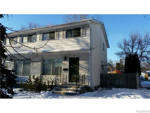 Main Photo: 84 Dellwood Crescent in WINNIPEG: Charleswood Residential for sale (South Winnipeg)  : MLS®# 1530881
