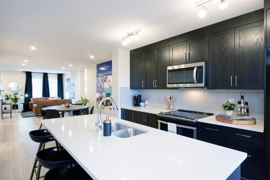 Main Photo: 20575 Seton Way SE in Calgary: Seton Row/Townhouse for sale : MLS®# A1061240