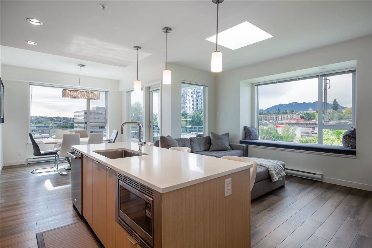 Photo 6: Photos: 602 2188 MADISON AVENUE in Burnaby: Brentwood Park Condo for sale (Burnaby North)  : MLS®# R2467995