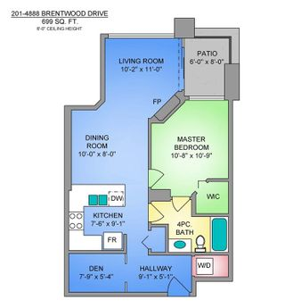 """Photo 22: 201 4888 BRENTWOOD Drive in Burnaby: Brentwood Park Condo for sale in """"Fitzgerald"""" (Burnaby North)  : MLS®# R2554792"""