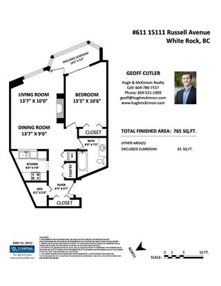 """Photo 30: 611 15111 RUSSELL Avenue: White Rock Condo for sale in """"Pacific Terrace"""" (South Surrey White Rock)  : MLS®# R2586464"""