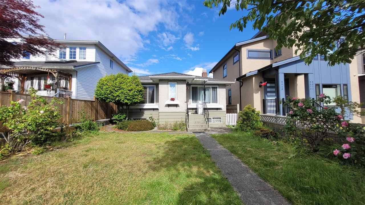 """Main Photo: 8056 HAIG Street in Vancouver: Marpole House for sale in """"MARPOLE"""" (Vancouver West)  : MLS®# R2589554"""