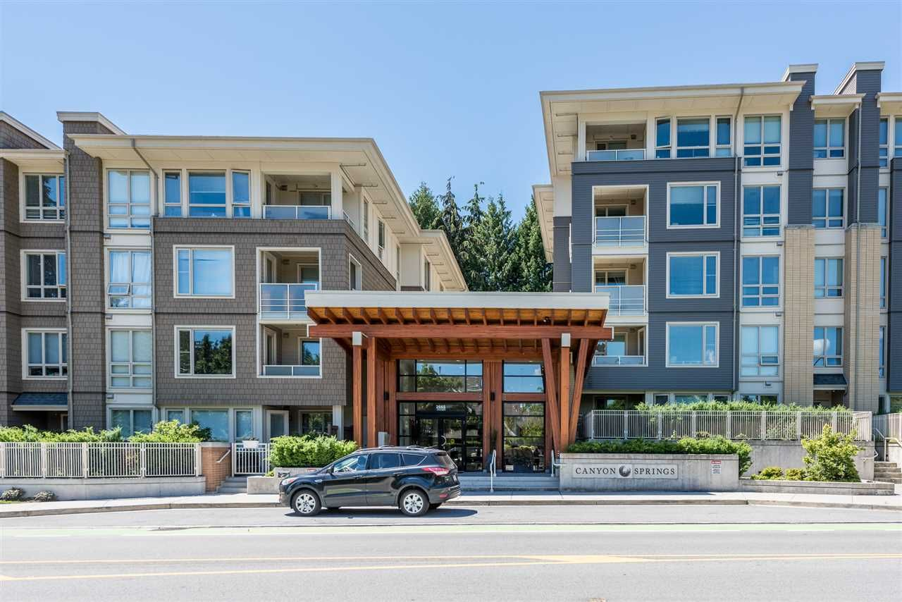 """Main Photo: 216 2665 MOUNTAIN Highway in North Vancouver: Lynn Valley Condo for sale in """"CANYON SPRINGS"""" : MLS®# R2180831"""