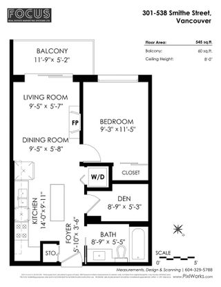 """Photo 24: 301 538 SMITHE Street in Vancouver: Downtown VW Condo for sale in """"THE MODE"""" (Vancouver West)  : MLS®# R2579808"""
