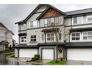 """Photo 1: 71 1055 RIVERWOOD Gate in Port Coquitlam: Riverwood Townhouse for sale in """"MOUNTAIN VIEW ESTATES"""" : MLS®# V999954"""