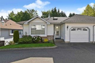 """Photo 1: 12 2988 HORN Street in Abbotsford: Central Abbotsford Townhouse for sale in """"CREEKSIDE PARK"""" : MLS®# R2590277"""