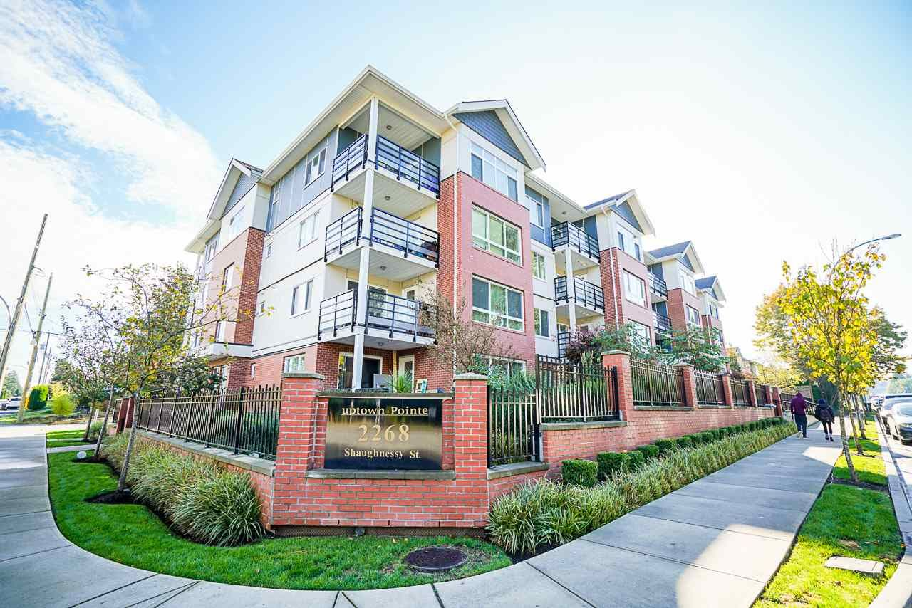 """Main Photo: 203 2268 SHAUGHNESSY Street in Port Coquitlam: Central Pt Coquitlam Condo for sale in """"Uptown Pointe"""" : MLS®# R2514157"""