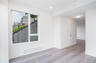 """Photo 5: 101 217 CLARKSON Street in New Westminster: Downtown NW Townhouse for sale in """"Irving Living"""" : MLS®# R2545600"""