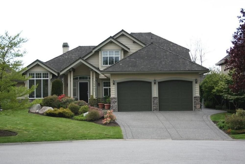 Main Photo: 15821 36 Avenue in South Surrey: Morgan Creek Home for sale ()  : MLS®# F1022837
