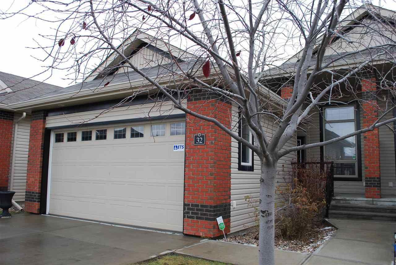 Main Photo: 32 841 156 Street in Edmonton: Zone 14 House Half Duplex for sale : MLS®# E4232960