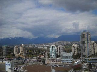 """Photo 10: 2301 6521 BONSOR Avenue in Burnaby: Metrotown Condo for sale in """"SYMPHONY 1"""" (Burnaby South)  : MLS®# V885133"""