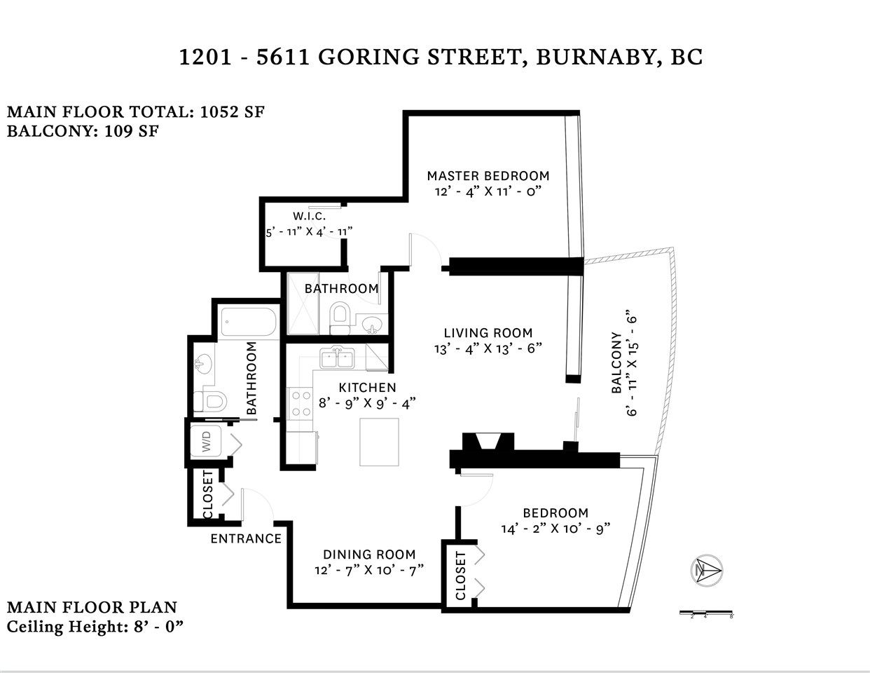 Photo 18: Photos: 1201 5611 GORING STREET in Burnaby: Central BN Condo for sale (Burnaby North)  : MLS®# R2431529