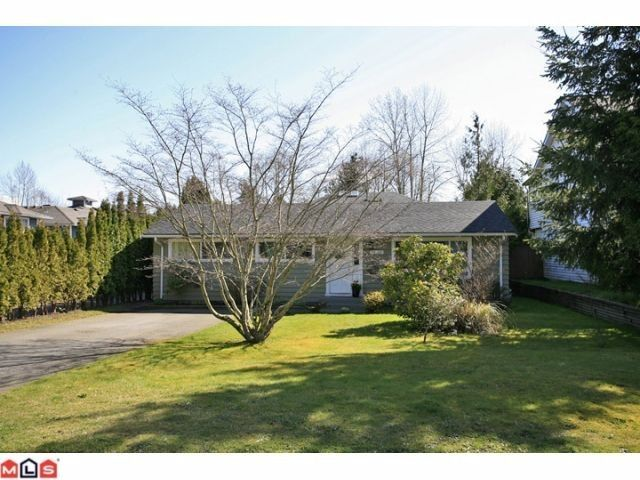 Main Photo: 16310 15TH Avenue in Surrey: King George Corridor House for sale (South Surrey White Rock)  : MLS®# F1209725