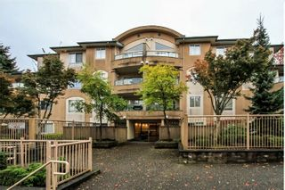 """Photo 1: 302 7475 138 Street in Surrey: East Newton Condo for sale in """"CARDINAL COURT"""" : MLS®# R2154698"""