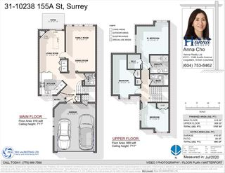 """Photo 27: 31 10238 155A Street in Surrey: Guildford Townhouse for sale in """"CHESTNUT LANE"""" (North Surrey)  : MLS®# R2473485"""