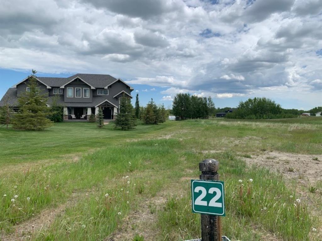 Main Photo: 22 Glendale Estates Manor: Cochrane Land for sale : MLS®# A1050512