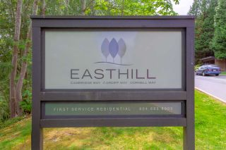 """Photo 1: 205 CAMBRIDGE Way in Port Moody: College Park PM Townhouse for sale in """"EASTHILL"""" : MLS®# R2371317"""