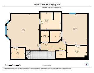 Photo 33: 1 223 17 Avenue NE in Calgary: Tuxedo Park Row/Townhouse for sale : MLS®# A1119296