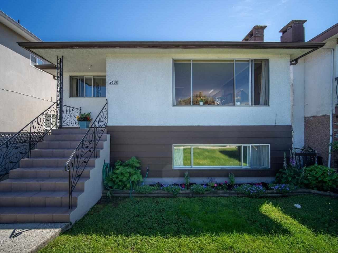 Main Photo: 2426 E GEORGIA Street in Vancouver: Renfrew VE House for sale (Vancouver East)  : MLS®# R2589923