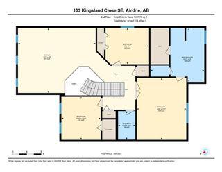 Photo 37: 103 Kingsland Close SE: Airdrie Detached for sale : MLS®# A1116114
