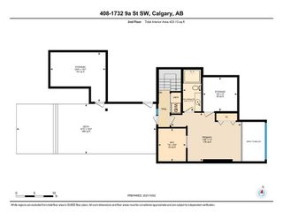 Photo 17: 408 1732 9A Street SW in Calgary: Lower Mount Royal Apartment for sale : MLS®# A1151772