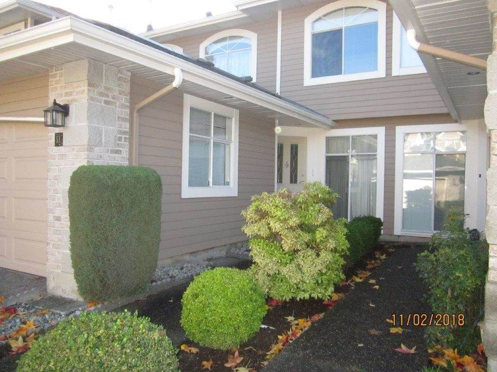 """Main Photo: 51 2500 152 Street in Surrey: King George Corridor Townhouse for sale in """"The Peninsula"""" (South Surrey White Rock)  : MLS®# R2355283"""