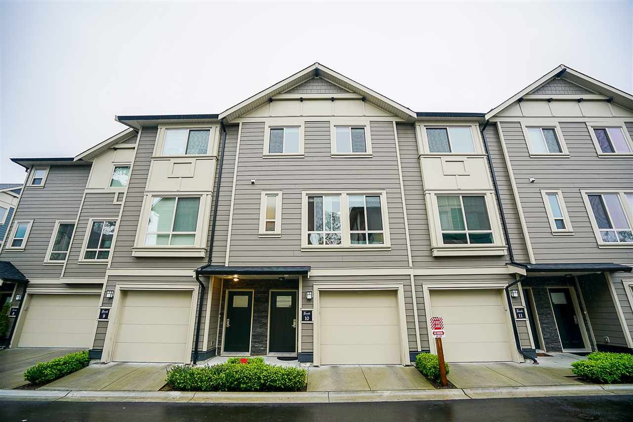 "Main Photo: 10 19913 70 Avenue in Langley: Willoughby Heights Townhouse for sale in ""The Brooks"" : MLS®# R2241267"