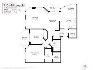 """Photo 24: 1101 38 LEOPOLD Place in New Westminster: Downtown NW Condo for sale in """"Eagle Crest"""" : MLS®# R2618188"""