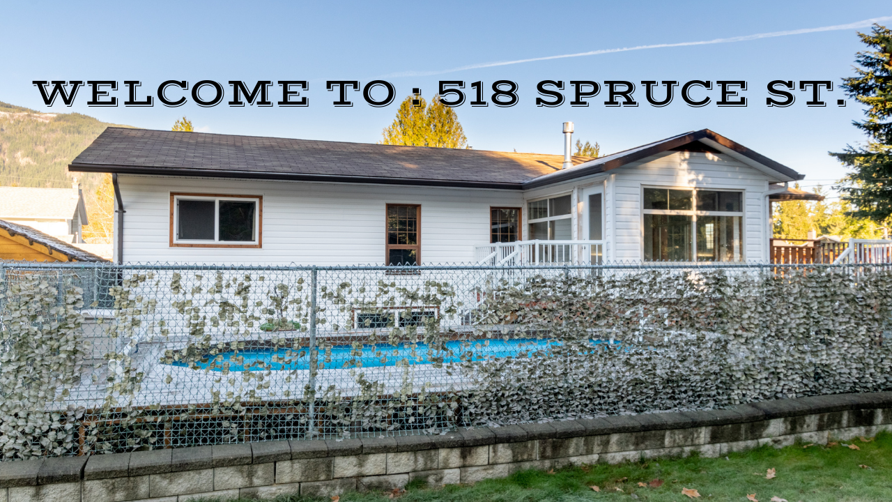 Main Photo: 518 Spruce Street in Sicamous: House for sale