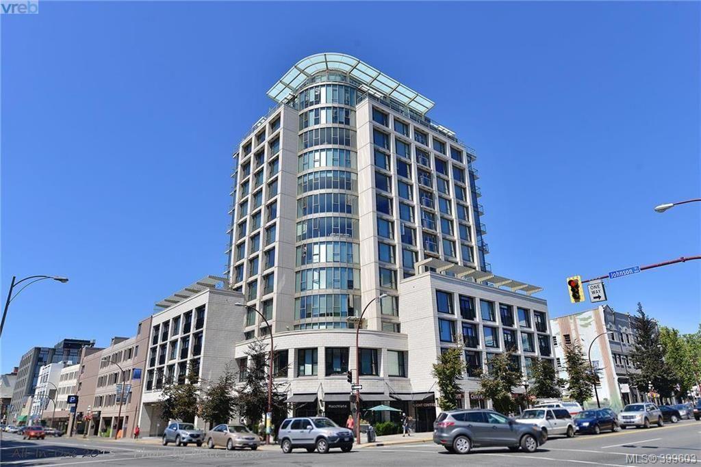 Main Photo: 210 760 Johnson St in VICTORIA: Vi Downtown Condo for sale (Victoria)  : MLS®# 797353