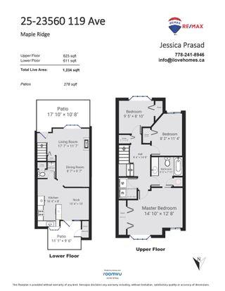 Photo 40: 25 23560 119 Avenue in Maple Ridge: Cottonwood MR Townhouse for sale : MLS®# R2616117