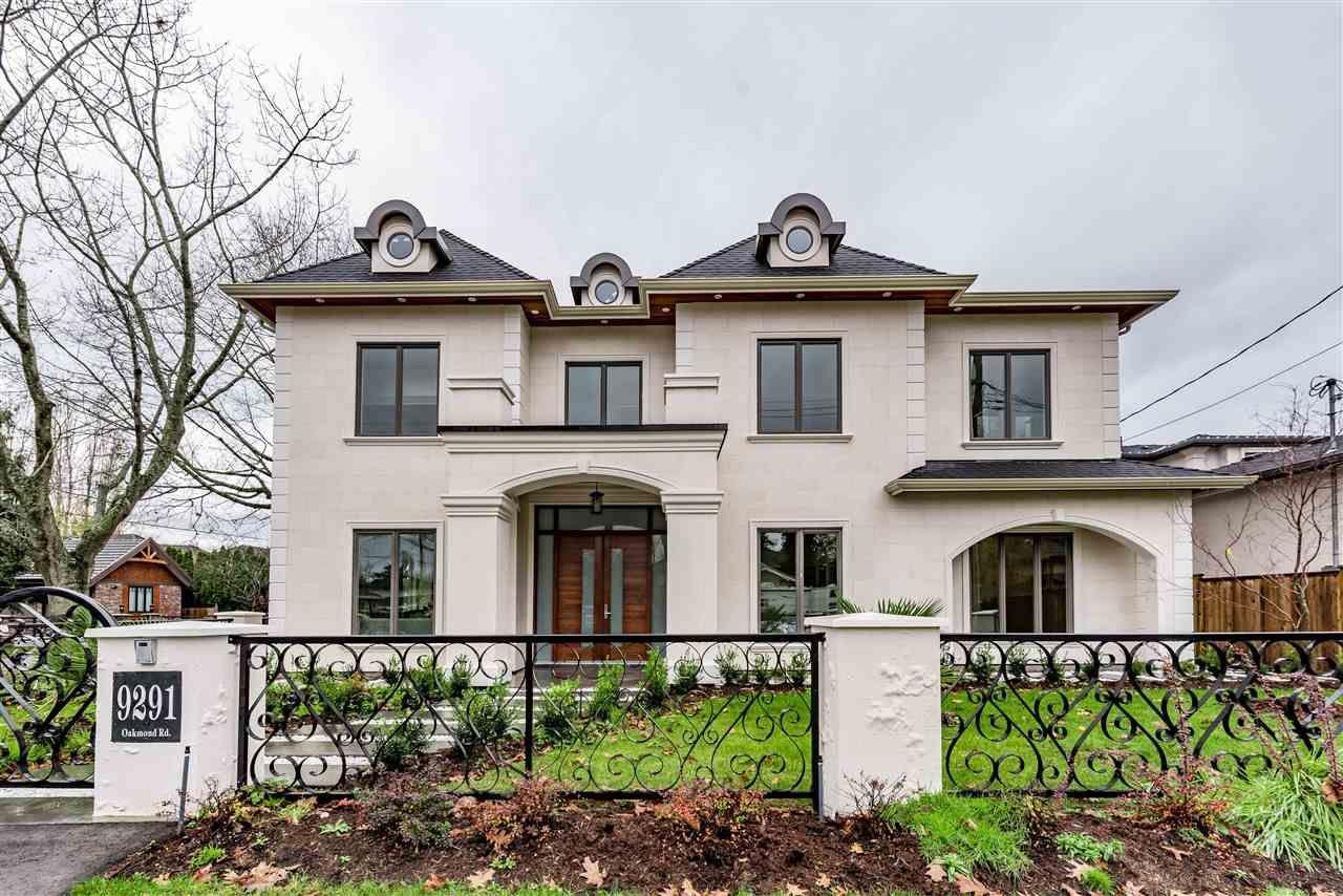 Main Photo: 9291 OAKMOND Road in Richmond: Seafair House for sale : MLS®# R2138113