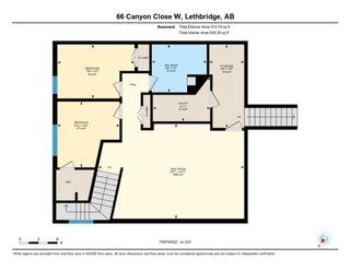 Photo 50: For Sale: 66 Canyon Close W, Lethbridge, T1K 6W5 - A1149101